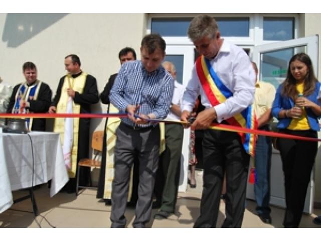 Sfintirea  si inaugurarea CAMINULUI CULTURAL din satul Frumuselu